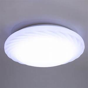 Round w led ceiling down light recessed fixture lamp