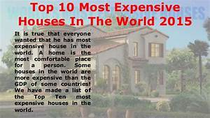 Quincy Harrington - Top 10 Most Expensive Houses In The ...