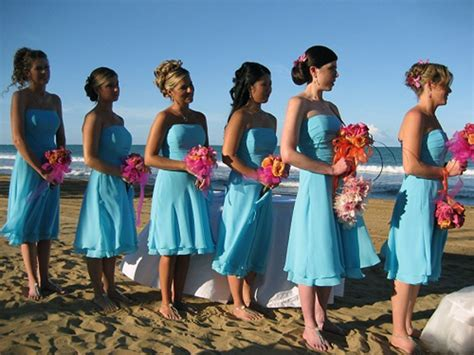 beach wedding bridesmaid dresses ideas pictures fashion