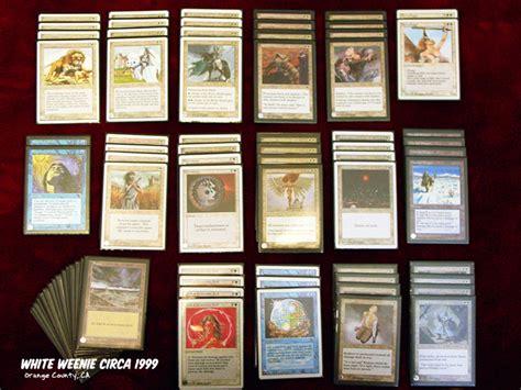 white weenie deck legacy mtg white weenie deck 1999 by polishtamales on deviantart
