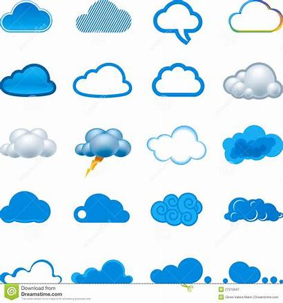 Cloud Icon Illustration Icons Vector Clouds Computing