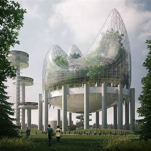 New, York, State, Pavilion, Reimagined, As, A, Giant, Greenhouse, Blob