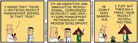 dilbert cartoons   project management