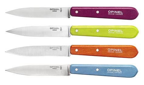 couteau de cuisine opinel coffret de 4 couteaux n 112 couleurs acidulées opinel com