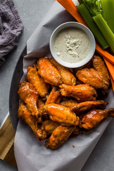 fryer wings chicken air buffalo sauce recipe recipes wing cook food crispy mild platter dinner without fried frying cheese healthy