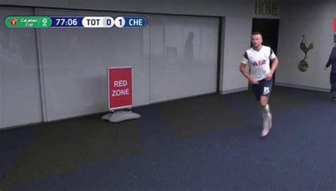 Football: Eric Dier takes late-match toilet break in ...