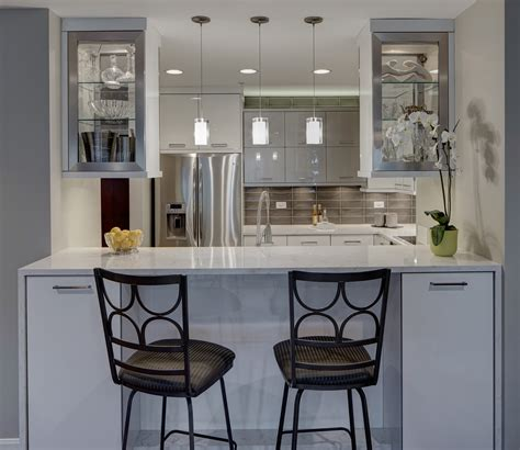 French Country Kitchens Contemporary Chic Condo Kitchen Drury Design