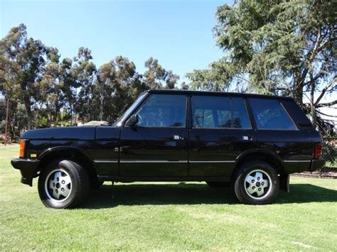 auto air conditioning repair 1993 land rover range rover security system purchase used 1993 range rover county lwb in san diego california united states