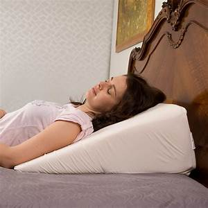 Buy bed wedge cover for reflux and back pain online australia for Bed wedge for lower back pain