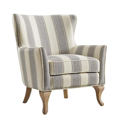 Small Upholstered Living Room Chairs by Dorel Living Dotty Gray Upholstered Accent Chair Fh7903 Gr