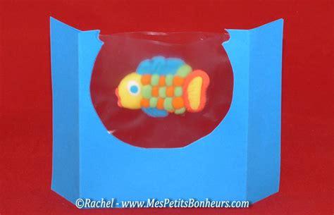 bricolage en pate a modeler bricolage en p 226 te 224 modeler poisson dans bocal