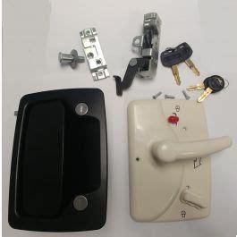 trimark   series motorhomerv entry door lock blackwhite