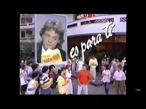Luis Miguel Comercial SABRITAS mix YouTube