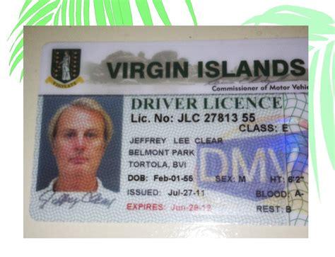drivers bureau obtaining a islands drivers license st croix