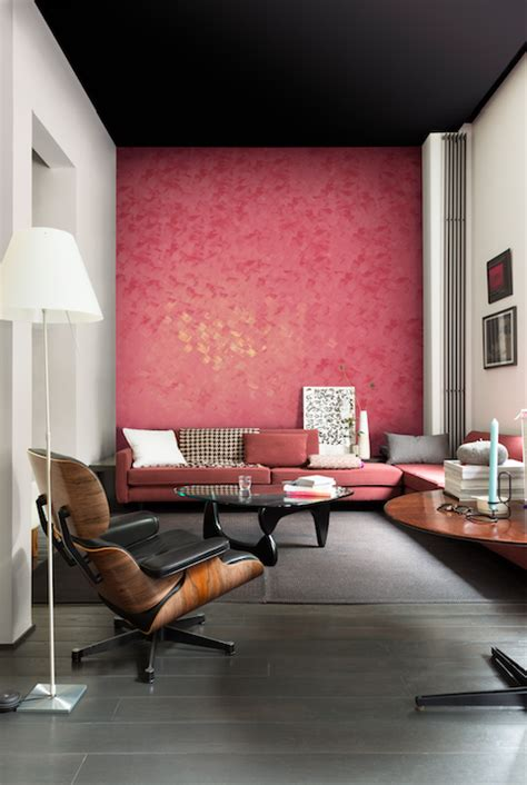 feature wall design special effects paint creates eye