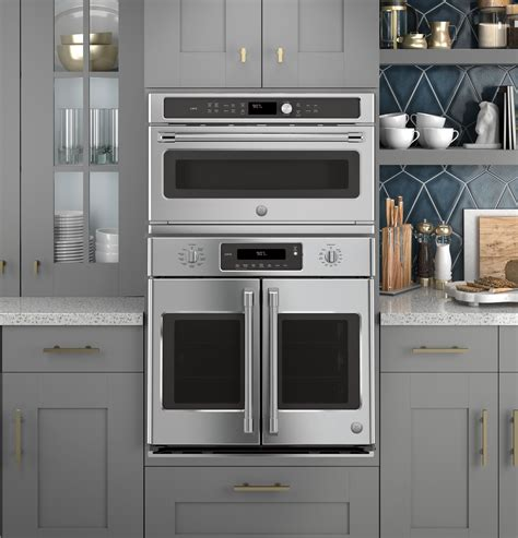 ge cafe series  built  french door single convection