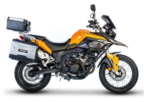 A 250cc Adventure Tourer
