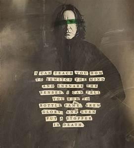 11 Beautiful Alan Rickman Quotes As Professor Snape To ...