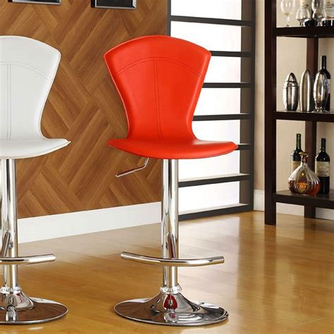ride adjustable stool set of 2 homelegance