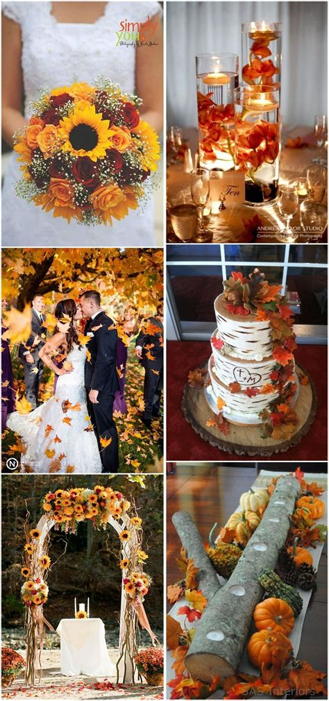 fall weddings   fall wedding ideas