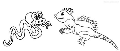 printable iguana coloring pages  kids coolbkids