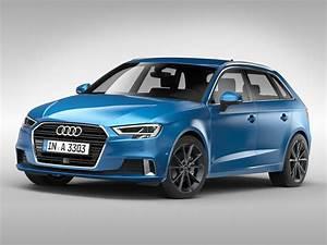 3D model Audi A3 Sportback 2017 | CGTrader