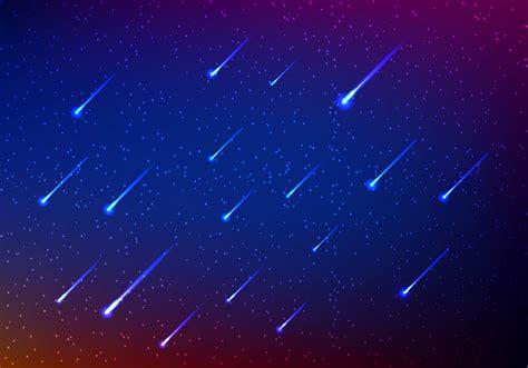 Meteor Shower Art