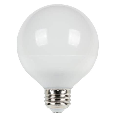 westinghouse 75w equivalent cool bright g25 dimmable led