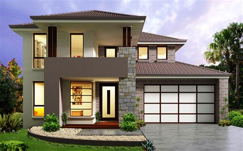 House Builder Design by New Home Builders Affinity 37 Storey Home Designs