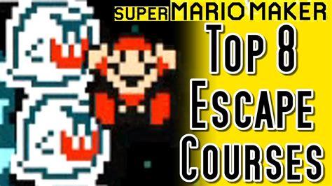 Super Mario Maker Top 8 Escape Courses (wii U)