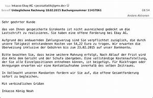 Inkasso Rechnung : angebliche ebay mahnung unbeglichene rechnung buchungsnummer 11437061 ~ Themetempest.com Abrechnung