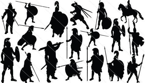 Ancient Warrior Silhouette