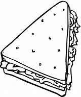 Coloring Pages Sandwich Bread Triangle Clipart Cereal Objects Colouring Drawing Cute Printable Sub Freecoloringpagefun Tall Food Clipartpanda Shaped Clip Shape sketch template
