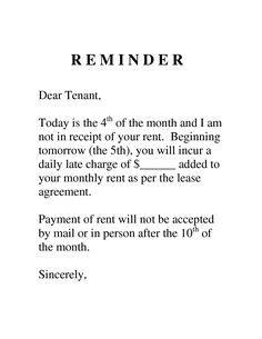 landlord tenant notices rental property notices ez