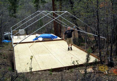 wall tent frame canvas frame tent davis tent