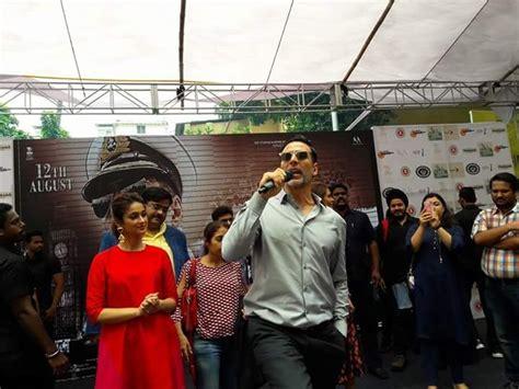 akshay kumar promotes rustom   bhawanipur education