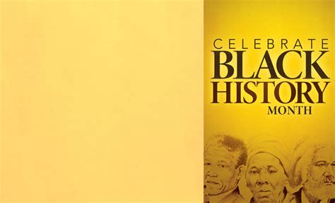 celebrate black history bulletin church bulletins