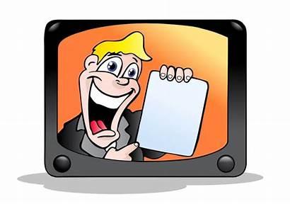 Tv Commercial Service Announcement Psa Television Illustration
