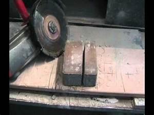 Řezání zámkové dlažby