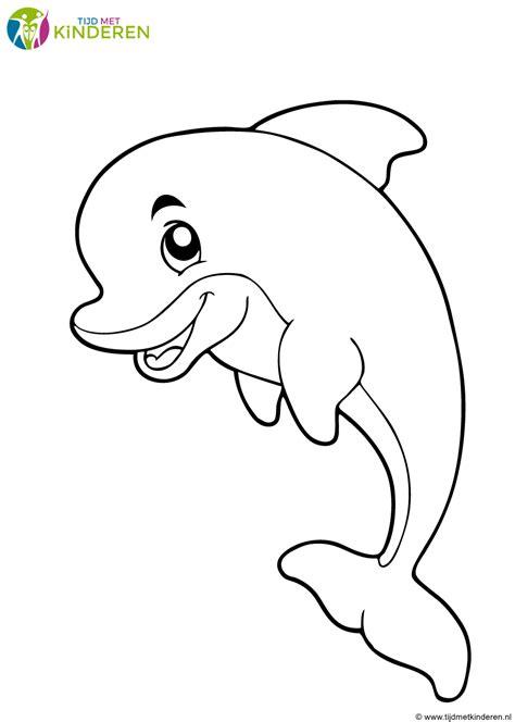 Dolfijnen In De Zee Kleurplaat by Kleurplaten Dolfijnen Archidev Nieuwe Kleurplaten