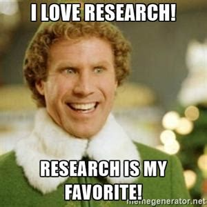 Research Meme - present your research the way you want at lunch learn