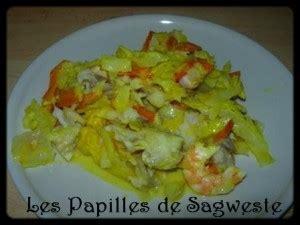 recette de gratin de colin sur chou blanc et carotte au curcuma les papilles de sagweste