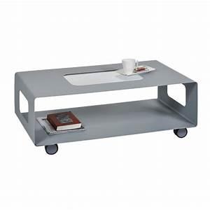 Table Basse Sur Roulette : table basse sur roulettes table basse avec rangement ~ Melissatoandfro.com Idées de Décoration
