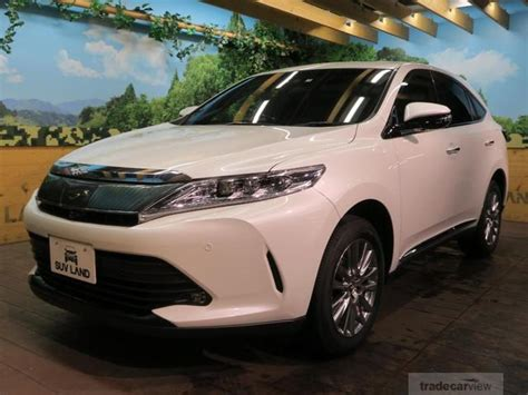 used toyota harrier 2017 for sale stock tradecarview 23752135