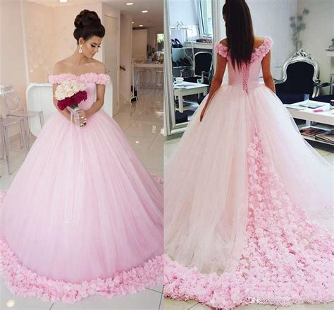 2017 Gorgeous Ball Gown Prom Dresses Off Shoulder Short ...
