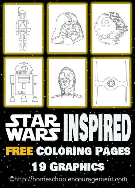 May the 4th Be With You - Star Wars Inspired Coloring ...
