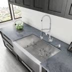 Home Depot Canada Farmhouse Sink by Vigo All In One Farmhouse Apron Front Stainless Steel 36