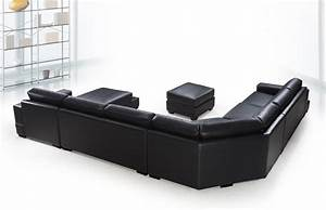 Sofa beds design the most popular modern cheap black for Cheap red leather sectional sofa