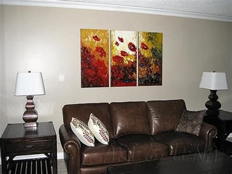 Sofa Paintings flower paintings in interior design by lena