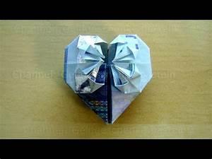 Herz Falten Origami : geldschein falten herz geldgeschenke basteln hochzeit geld falten herz diy origami herz ~ Eleganceandgraceweddings.com Haus und Dekorationen